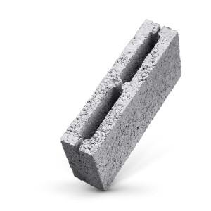 Стеновой пустотелый керамзитобетоный блок 500х300х188 мм некондиция