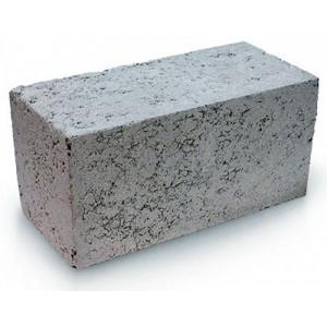 Стеновой полнотелый керамзитобетоный блок 390х120х188 мм с утеплителем / прямой
