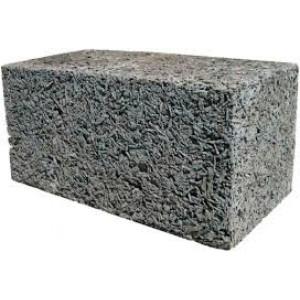 Стеновой полнотелый арболитовый блок 500х300х200 мм