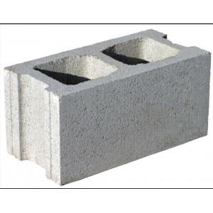 Перегородочный пустотелый керамзитобетоный блок 500х300х188 мм пазогребневый