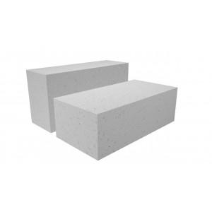 Стеновой полнотелый газоблок Poritep D500 размером 200x250x600 мм