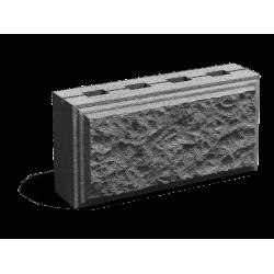 Облицовочный пустотелый шлакоблок 200х300х600 мм