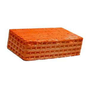 Керамический строительный полнотелый одинарный кирпич М-125 Карасево