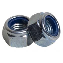 Гайка с контрящим кольцом М4 КРЕП-КОМП 3000 шт.