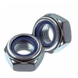 Гайка с нейлоновым кольцом самостопорящаяся шестигранная М5 КТ 1000 шт.