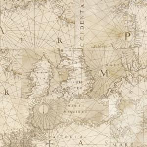 Пробковое покрытие Corkstyle Fantazy World Map клеевое